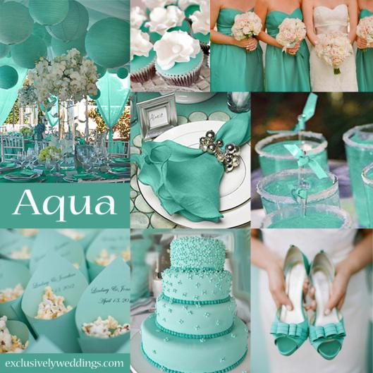 aqua-wedding-color