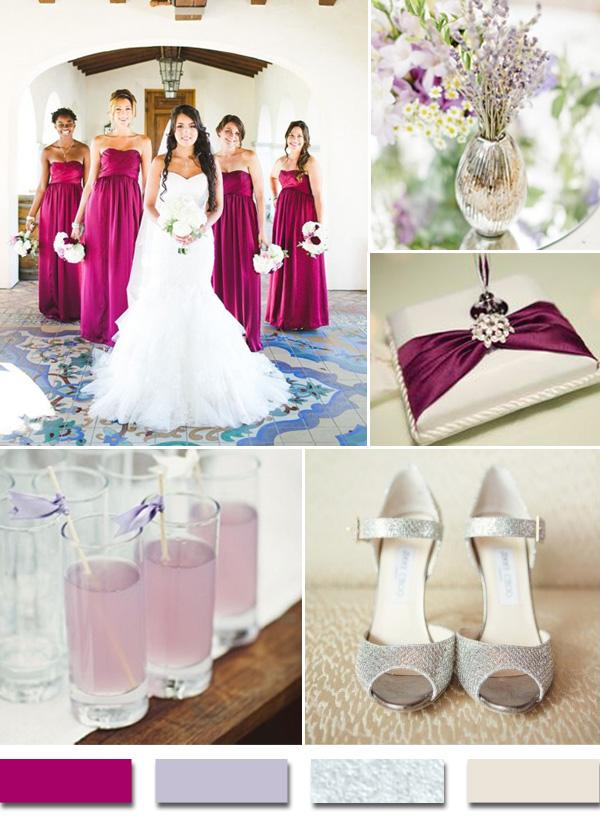Bridesmaids-Aga Jones Photography via Wedding Chicks/Shoes-via Lover.ly