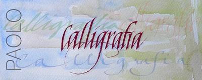 Calligrafia Paolo
