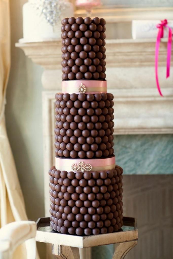 Torta bon bon al cioccolato