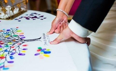 Finger print guestbook, le impronte sono protagoniste!