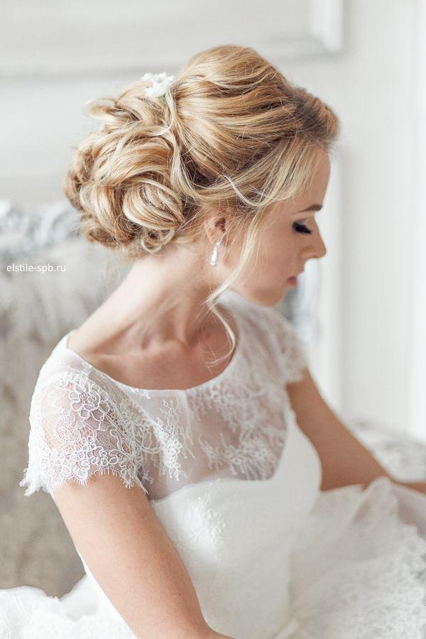 elegant-curly-chigon-bridal-updo-wedding-hairstyle