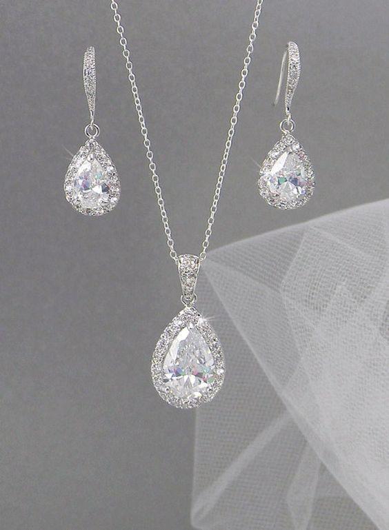 Ariel Bridal Jewelry SET