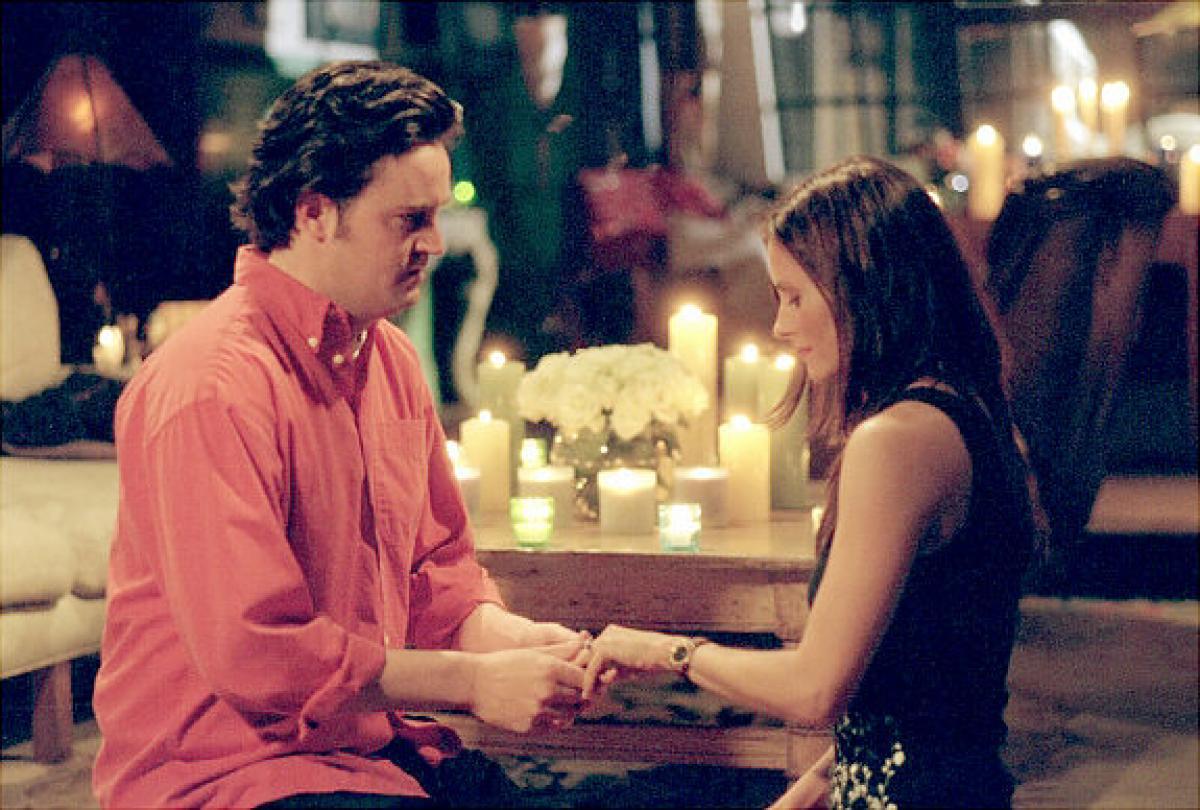Monica e Chandler