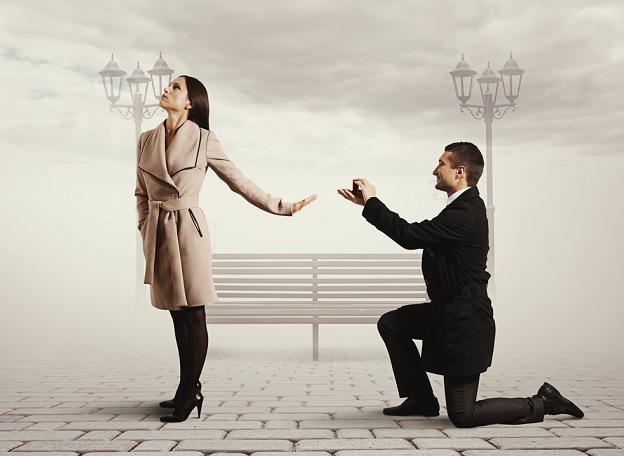 10 buoni motivi per dire no ad una proposta di matrimonio!