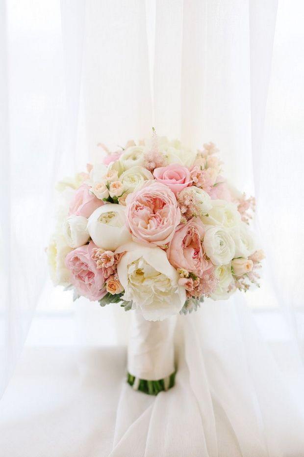 Bouquet Sposa Total White.Bouquet Da Sposa Pastello Total White O Colorato Trend Colore