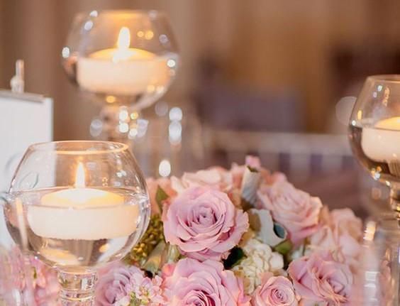 Candele per il matrimonio, le idee più chic!