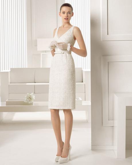 promo code be795 3c12c Abito da sposa corto, i modelli e i tessuti più adatti ...
