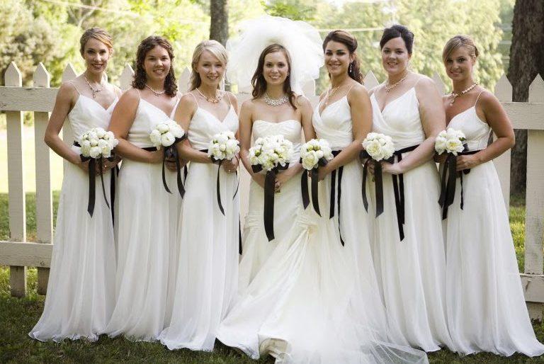 white-bridesmaid-dresses1