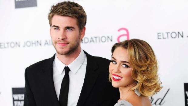 Miley Cyrus e Chris Hemsworth