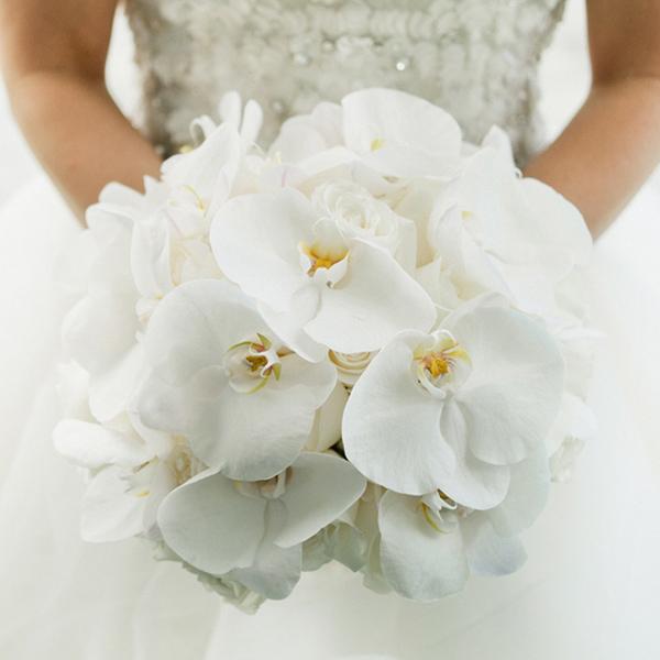 Bouquet Sposa Orchidee E Fiori D Arancio.Bouquet Da Sposa 2017 I Fiori Piu Glamour Per Le Spose Di